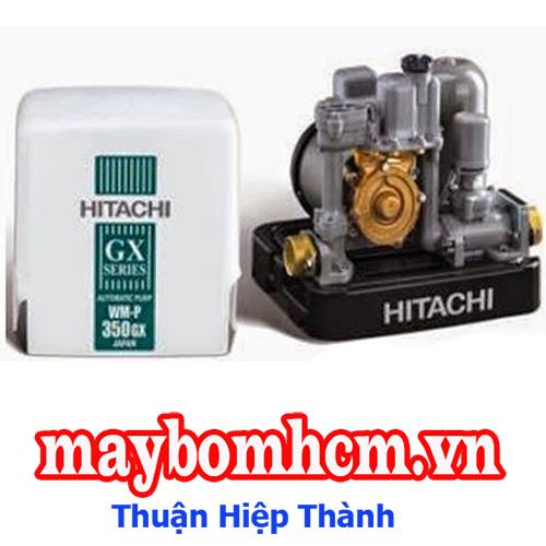 Bơm tăng áp lực nước tự động vuông Hitachi WM-P150GX2-SPV-WH 150W